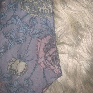 LuLaRoe Pants - Lularoe pastel roses TC